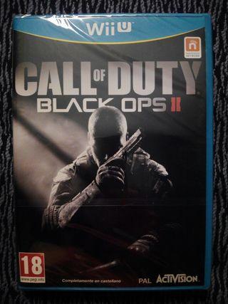 Call of duty Black ops 2 wii u call of duty