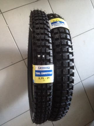neumatico trial michelin x 11