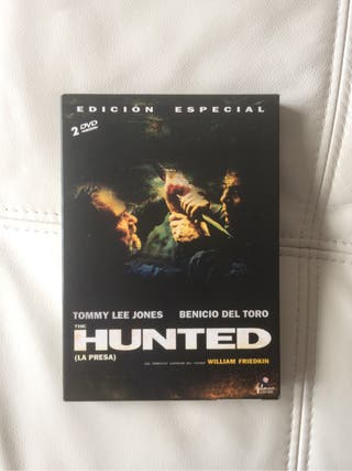 "Pelicula en DVD "" THE HUNTED"""