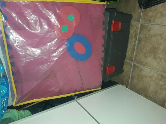 alfombra niños goma eva, o forma 2x3 de segunda mano por 20 € en