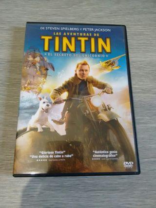 2 Películas infantiles: Tintín, Tiana y el sapo.