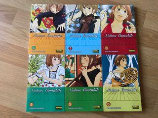 Nodame Cantabile 1-6 manga