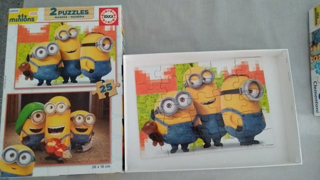 puzzle niños
