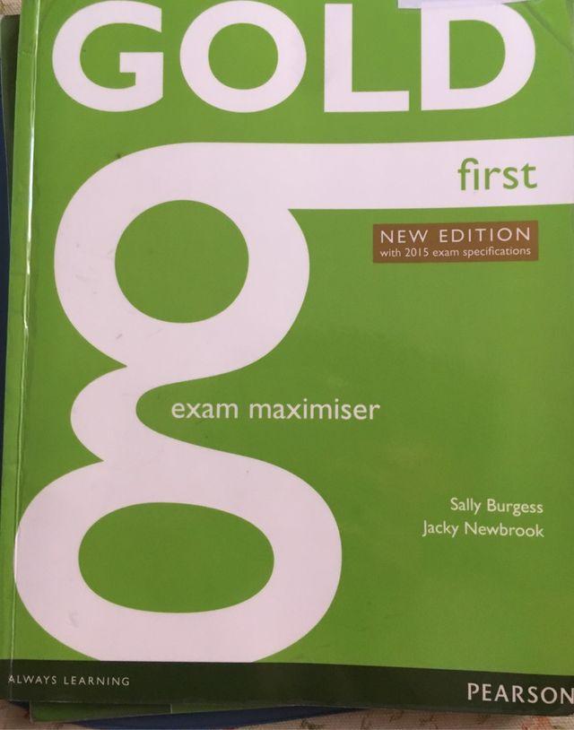 Gold first exam maximiser-work