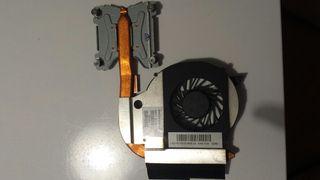 Ventilador Disipador HP Compaq Presario CQ62