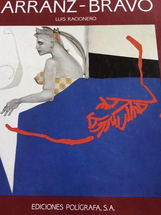 Libro catálogo del artista Arranz Bravo de Arte