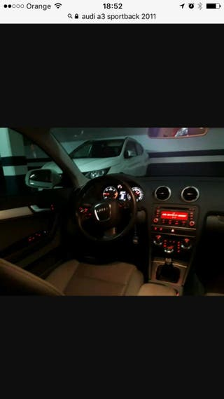 Audi A3 2012 sportback diesel 1.6 105 cv