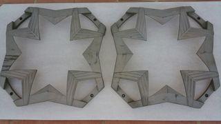 2 rejillas kicker 15 cvr/cvx