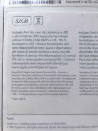 iPad Air 4G 32Gb Blanco Libre Precintado Garantía