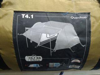 tienda campaña quechua