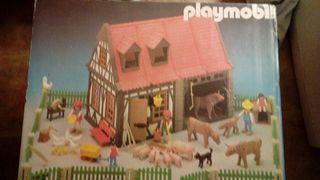 Caja vacia de playmobil