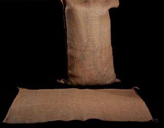 sacos tela arpillera o yute