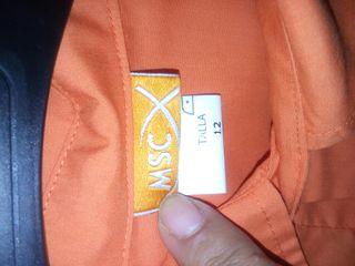 Camisa scout castores naranja