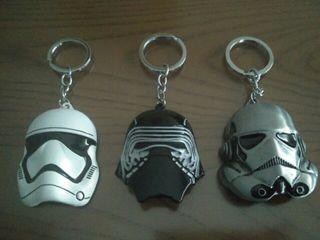 Lote llaveros Star Wars