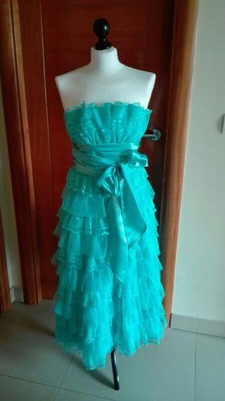 vestido de fiesta ESPECTACULAR