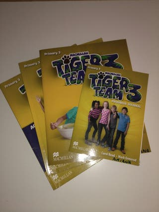 Libro de inglés tiger team 3
