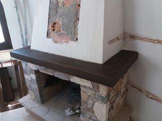 madera de chimenea