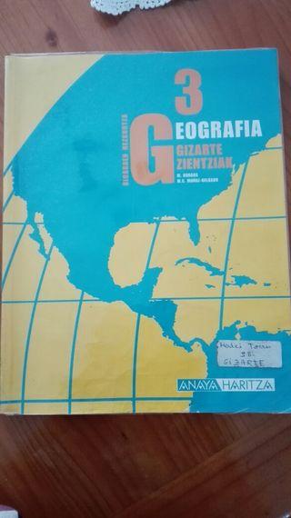 Geografia Gizarte zientziak 3DBH