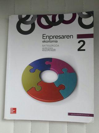 Libro Bachiller 2 Enpresaren Ekonomia
