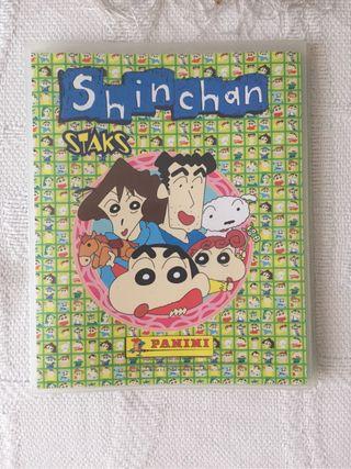 Imanes y álbum Shinchan