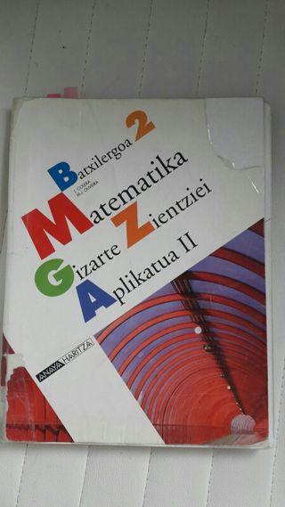 Libro Bachiller 2 Matemática