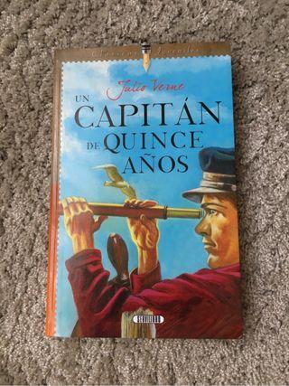 Libro UN CAPITÁN DE 15 AÑOS