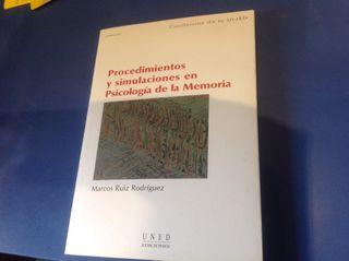 Libro Psicología de la Memoria