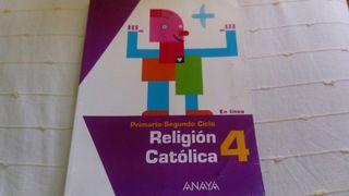 religión católica 4. anaya.
