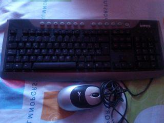 teclado y raton de ordenador