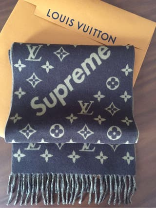 Louis Vuitton Supreme Bufanda