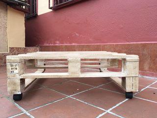 Mesa palet de segunda mano por 99 en oviedo en wallapop - Wallapop asturias muebles ...
