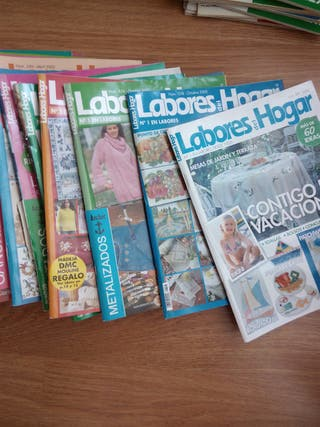 Revistas Labores del Hogar (54 numeros)