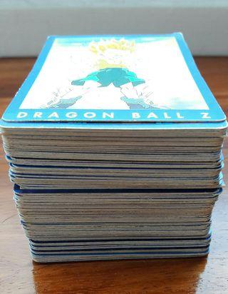 Coleccion completa cromos Dragon ball (azul)