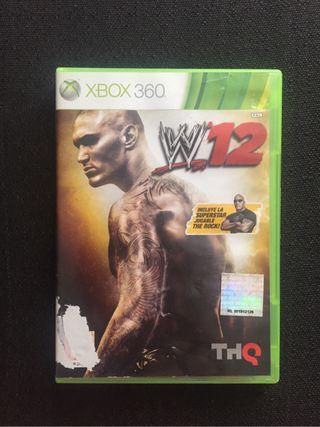 WWE 2k12 Xbox 360