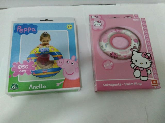 Flotador infantil HELLO KITTY o Peppa Pig