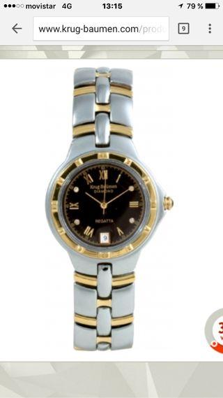 Reloj de mujer oro y diamantes