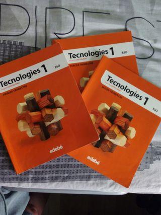 Llibre 1r ESO Tecnologies. Ed Edebé.