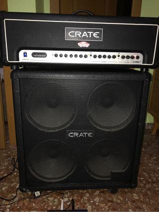 Pantalla amplificador Crate