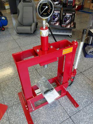 prensa 10 toneladas con cilindro móvil