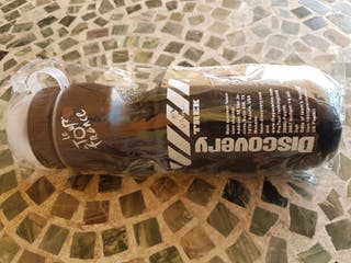 botella plástico bicicleta