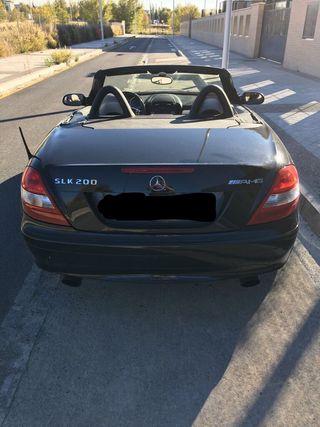 Mercedes-Benz SLK 2005 color negro