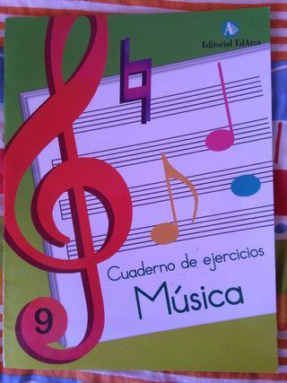 cuadernillo de musica. libro escolar
