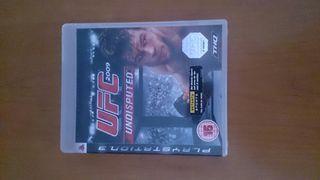 juego PS3 UFC 2009 UNDISPUTED