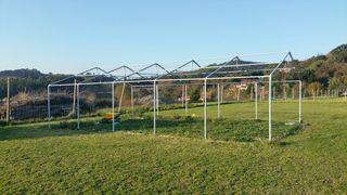 Carpa Pvc estructura de metal 60m2 6x10 metros