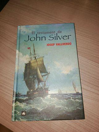 Libro lectura: El testament de John Silver