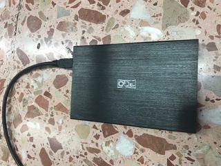 Disco duro externo 3go 80gb