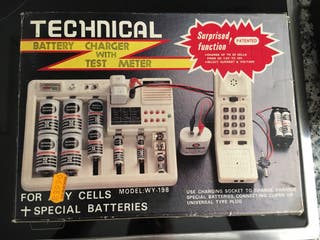 Cargador de baterias.