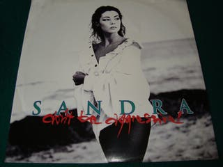 "SANDRA.-DONT BE AGGRESSIVE- MAXI VINILO 12""."