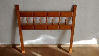 Cabeceros madera cama. Cantidad: 2 unidades.
