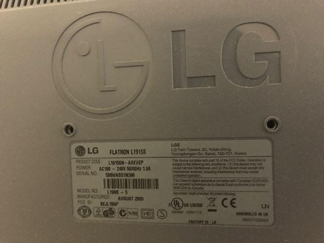 Monitor tv y ordenador LG